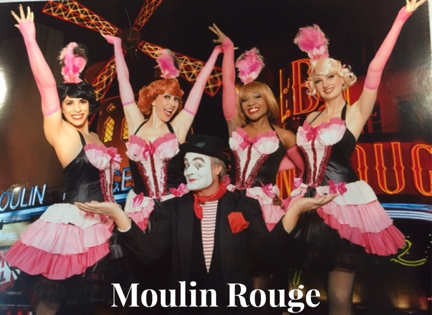 Chicago Corporate Event Entertainment, Burlesque Show, Moulin Rouge Show